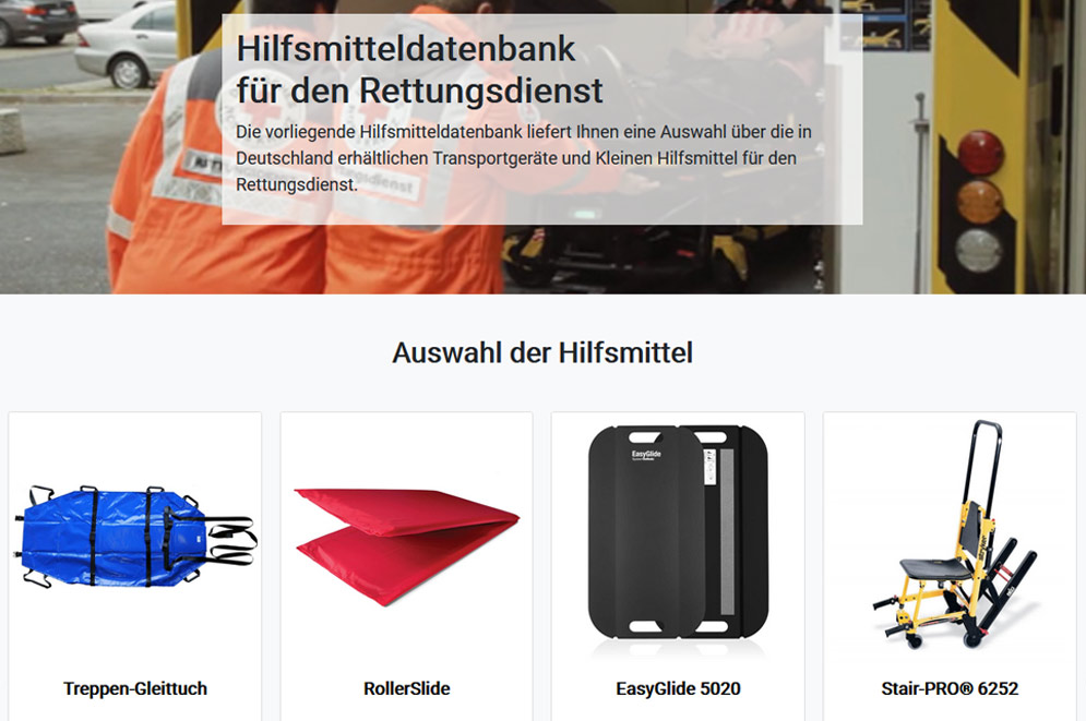 Hilfsmitteldatenbank