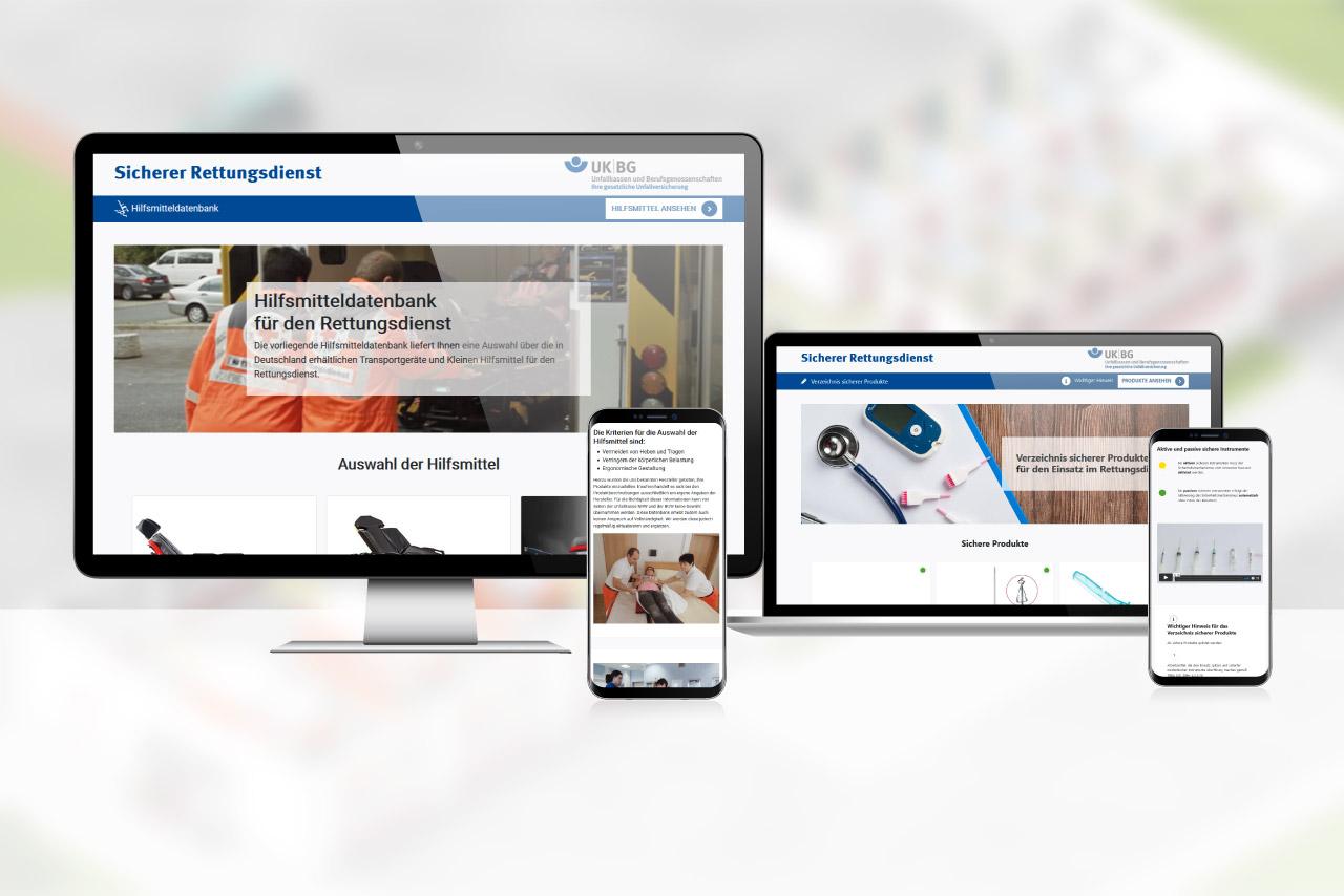 Neu: Hilfsmitteldatenbank & Verzeichnis sicherer Produkte