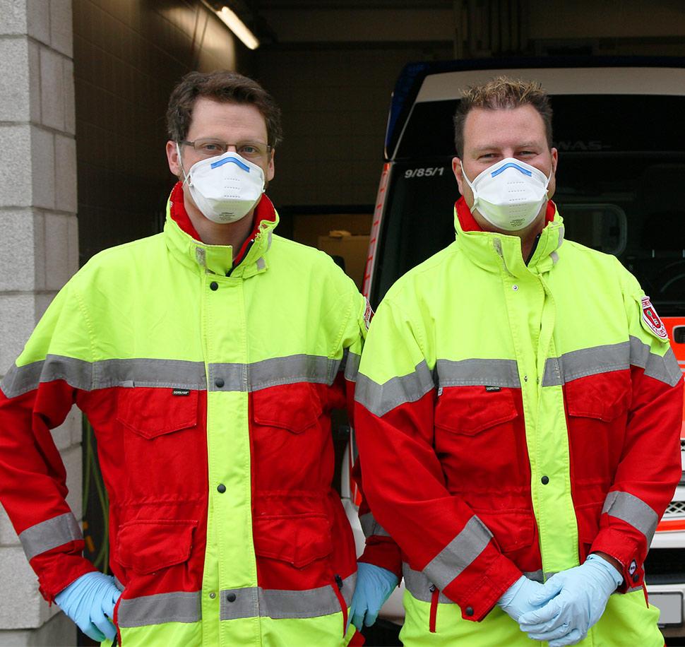 Richtige Verwendung von FFP2-Masken